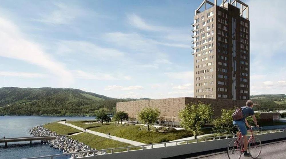 NEWS ecosostenibilita grattacieli e legno working process
