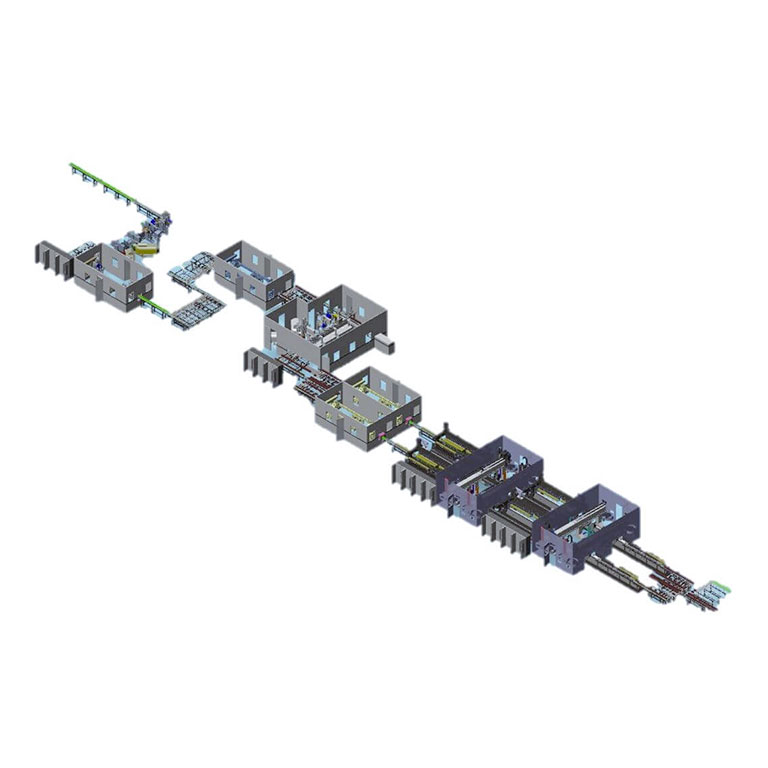 working process lineeCML render